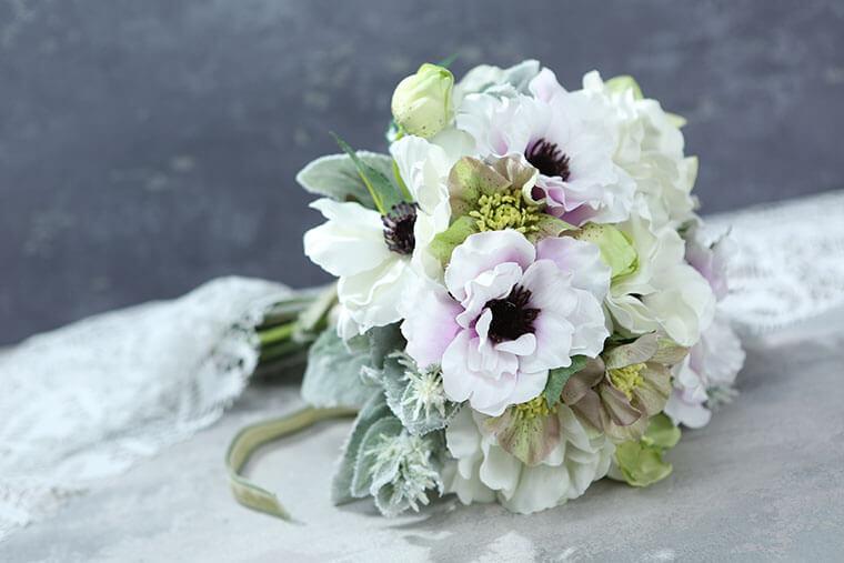 手作りの品を長く楽しみたいなら、造花でフラワーアレンジメント