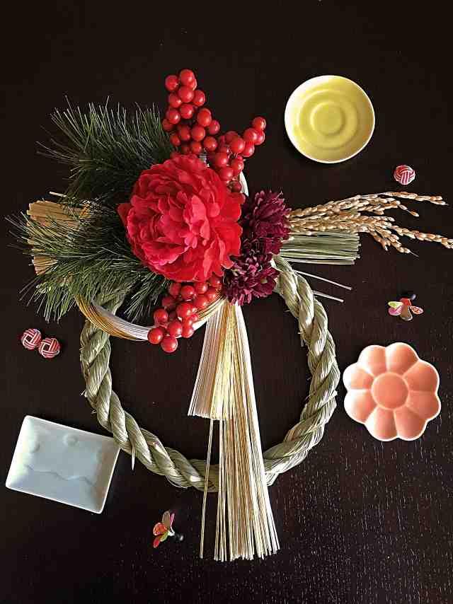 お正月のしめ縄飾りを簡単に手作りするレシピ
