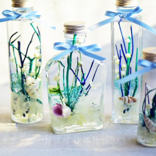 夏のお花で作る爽やかなサマーハーバリウムのレシピ