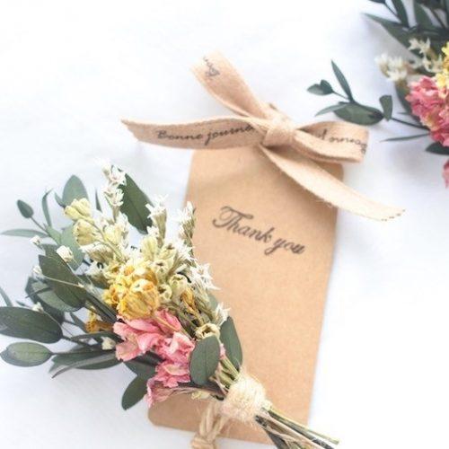 結婚式のプチギフトの手作りアイデア