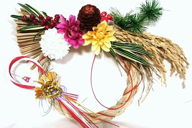 お正月飾りのモチーフの意味と、しめ縄飾りのレシピ