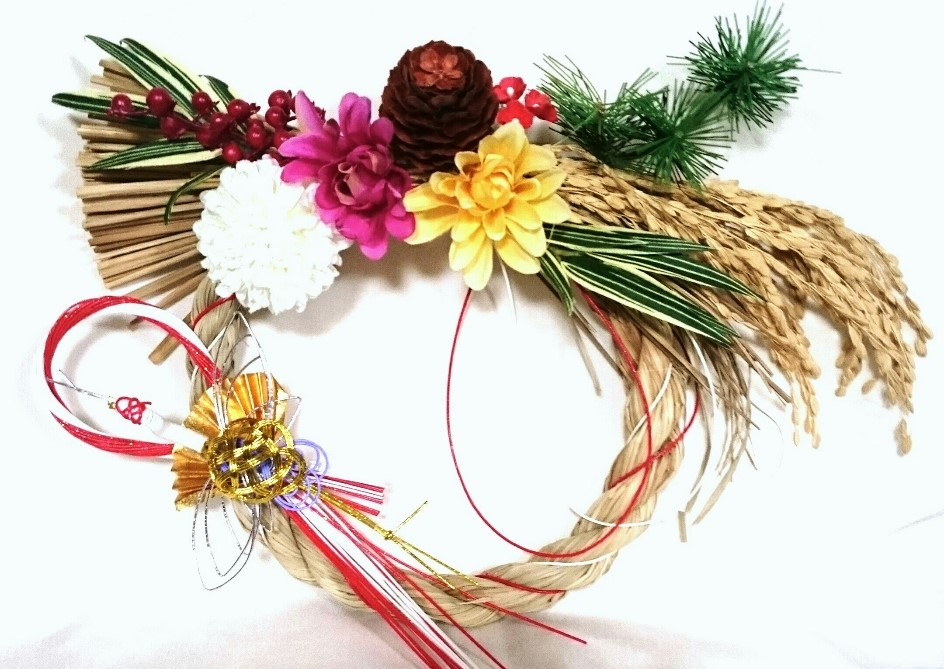 しめ縄飾りの作り方