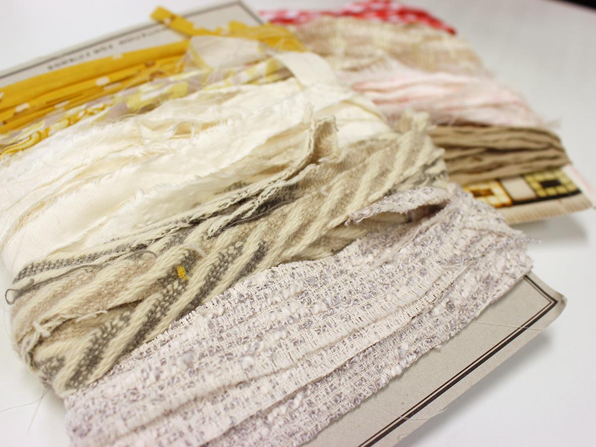 裂き織りの裂き布の作り方
