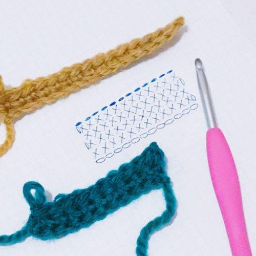 編み物を始めよう!編み図記号と編み方の基本【初級編】