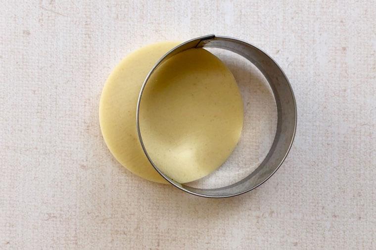 紫陽花のアイシングクッキーの作り方