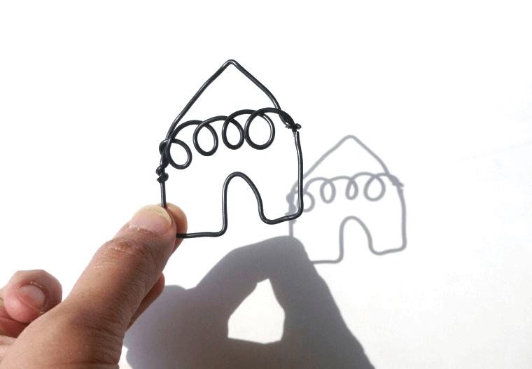 ワイヤー アート 作り方