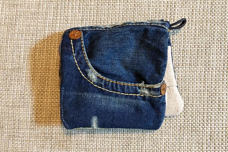 古布でリメイクできる『移動ポケット』の作り方