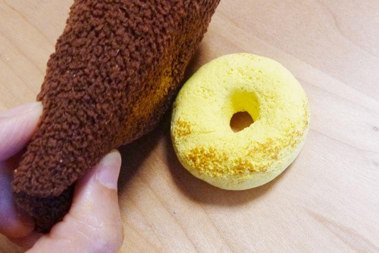 フェイクスイーツのドーナツの作り方