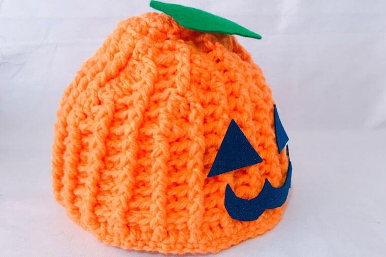 ハロウィンの仮装に!かぼちゃの帽子の編み方