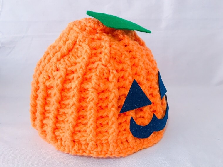 ハロウィンのかぼちゃの帽子
