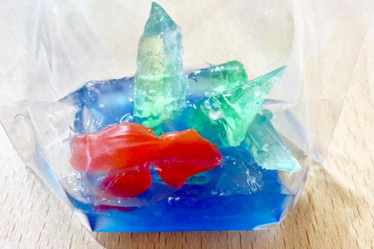 自由研究 金魚すくいの石鹸