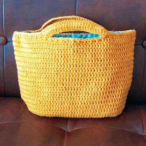 かぎ針編みでバッグを編んでみよう ニットバッグの作り方