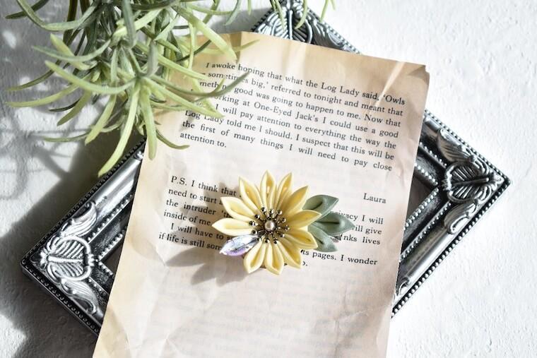 つまみ細工 菊