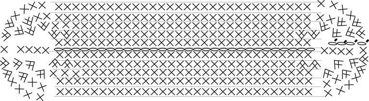 バッグ かぎ針 編み 図 編み