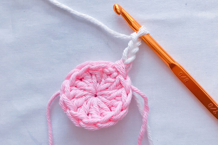 鍋敷きの編み方