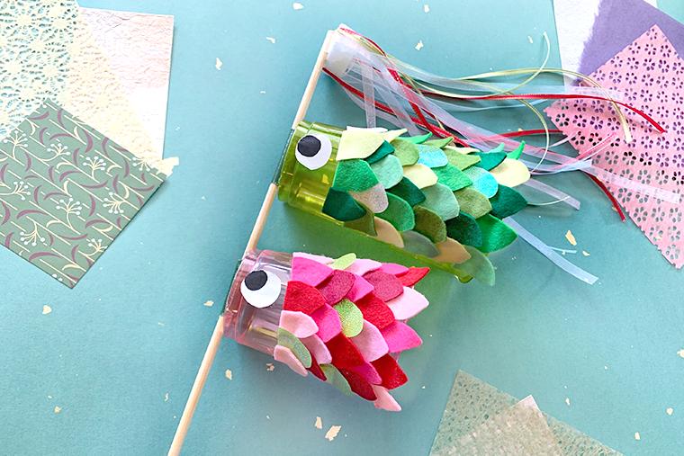 こいのぼりアイテムの作り方。折り紙やコップで簡単に♪