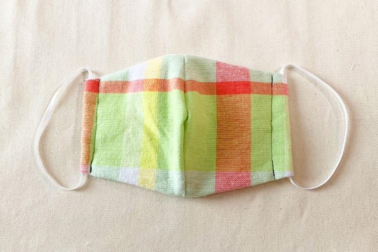 型紙つき・直線縫いで簡単!立体マスクの作り方