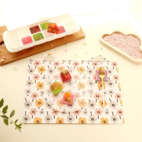 親子で一緒に作れるどうぶつランチョンマットのレシピ|こどものヒトサラ × Craftieコラボレシピ第1回