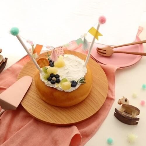 ケーキを飾ろう!簡単ミニガーランドのレシピ|こどものヒトサラ × Craftieコラボレシピ第2回