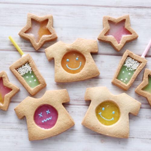 透明感&キラキラが素敵!ステンドグラスクッキーの作り方