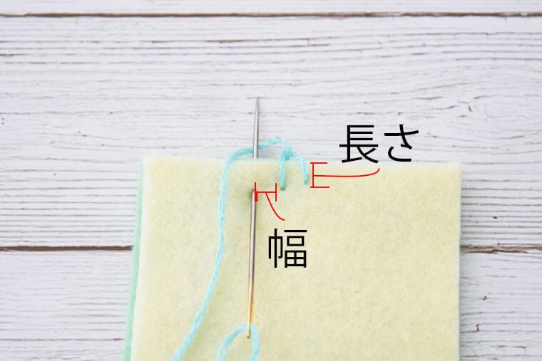 かがり縫い