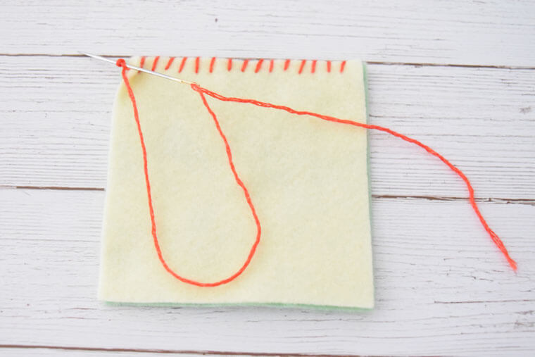 フェルト縫い方