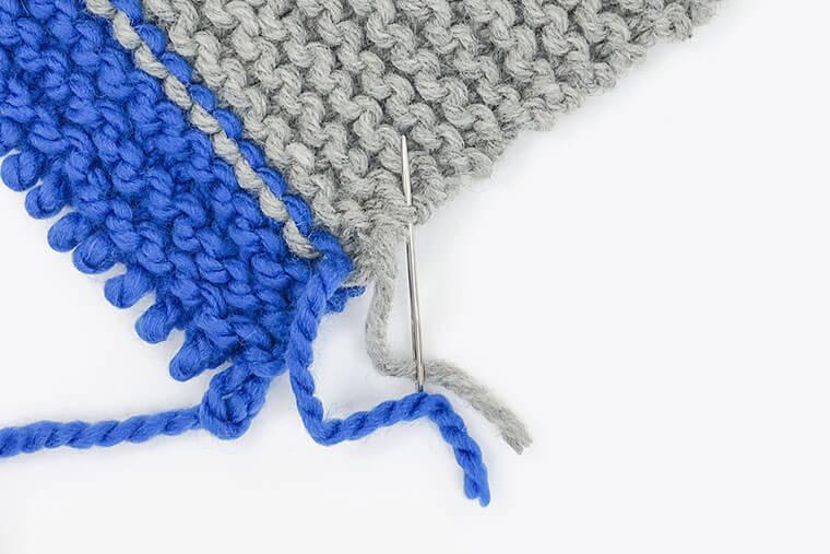 マフラー編み方
