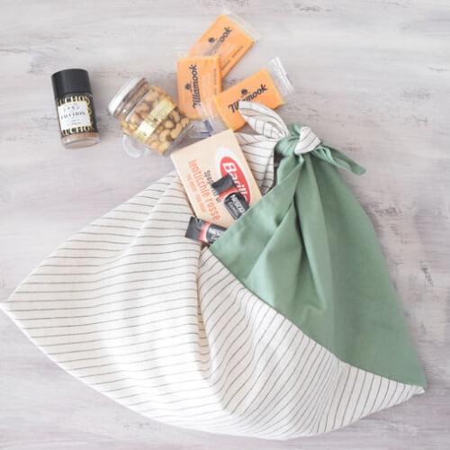 あずま袋の作り方 手縫いでもできる簡単バッグ