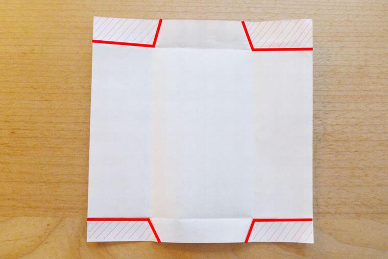 折り紙ポチ袋