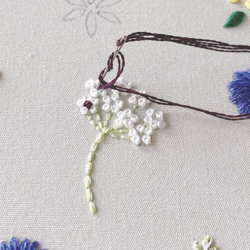 刺繍ステッチの基本。種類やおすすめモチーフまで