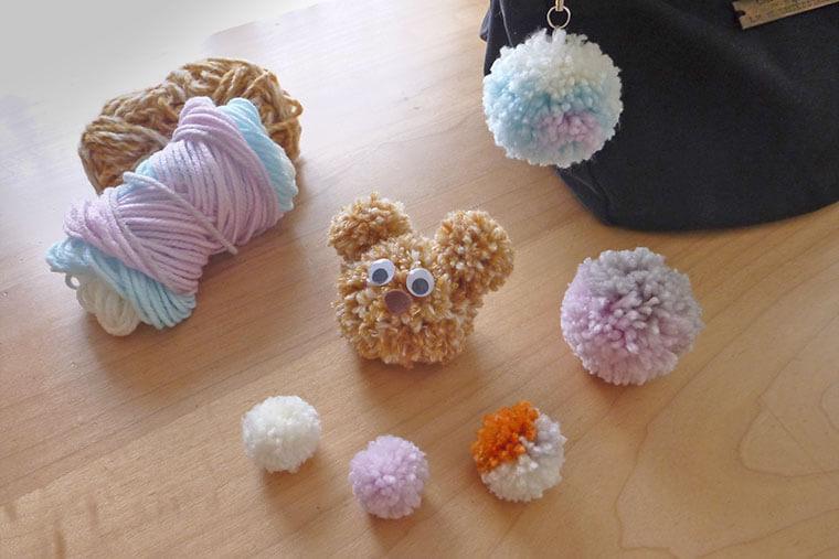 毛糸ポンポンの作り方3パターンと活用アイデア