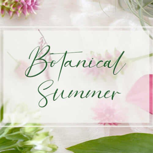7月はBotanical Lifeをはじめよう。サブスクライフと暮らしのアイデアをご紹介