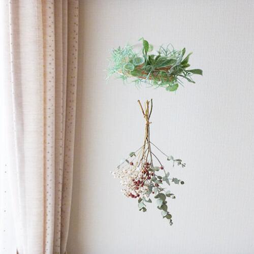 窓辺に飾って爽やかに。ボタニカルな手作り風鈴で、夏のインテリアを楽しもう