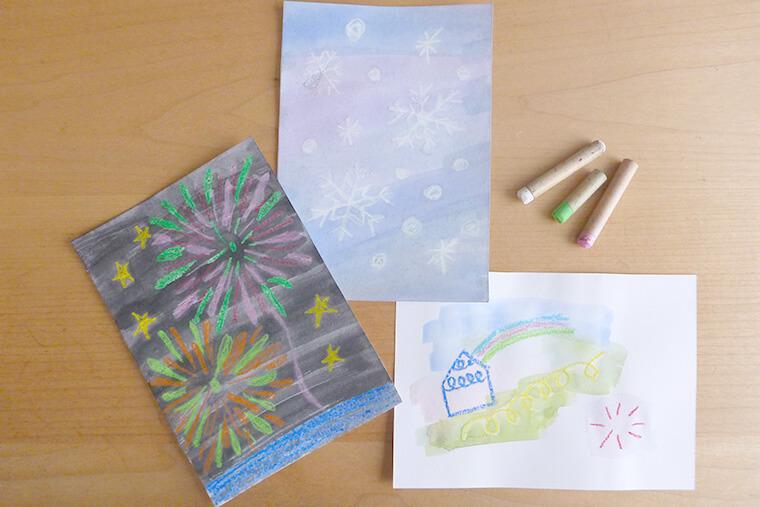 「はじき絵」でお絵描きをもっと楽しく。成長に合わせた楽しみ方をご紹介