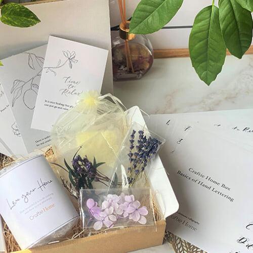 毎月届く「Craftie Home Box 」のハンドメイド体験。9月の新規会員受付をスタート!