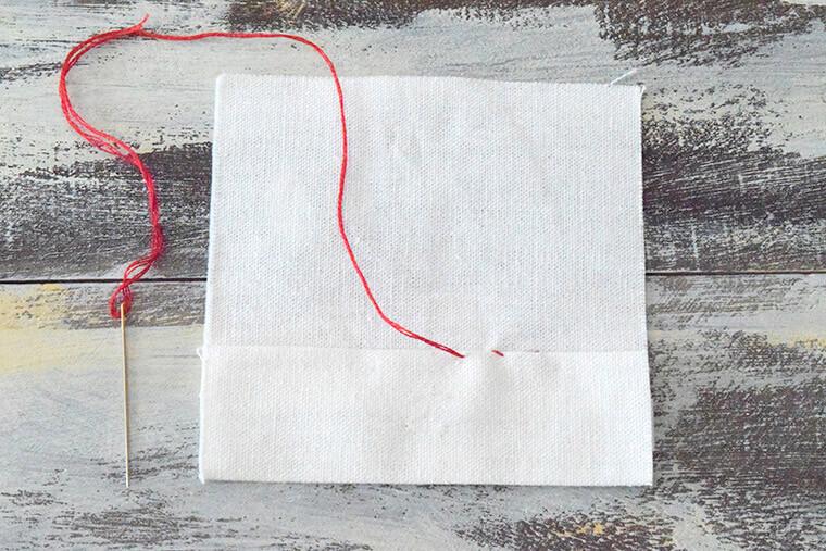 まつり縫い