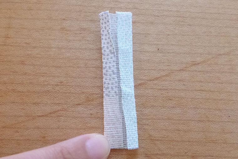 リボン 作り方 布